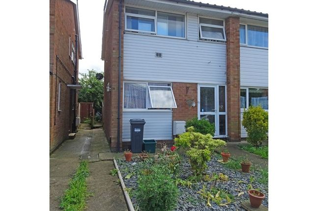 Thumbnail End terrace house for sale in Marriott Close, Feltham, Greater London