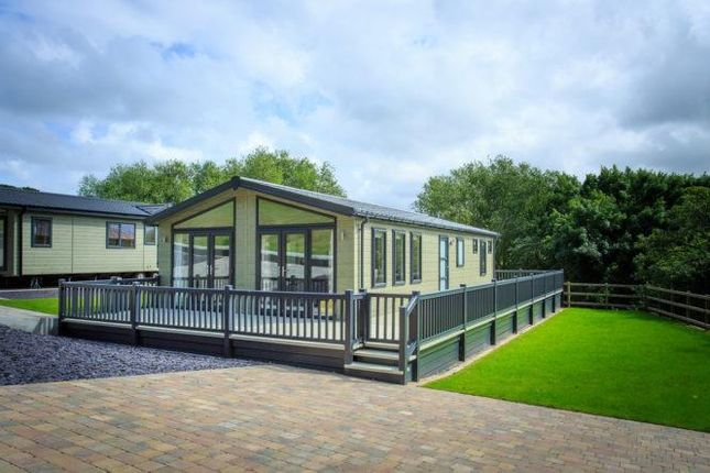 Thumbnail Mobile Park Home For Sale In Gorse Hill Caravan And Lodge Trefriw