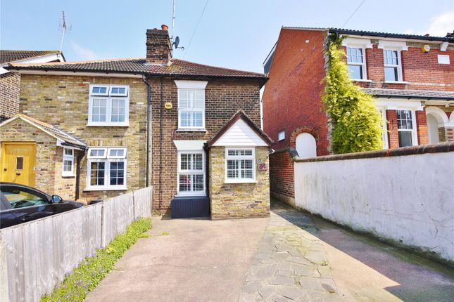 Thumbnail Semi-detached house for sale in Junction Road, Warley, Brentwood, Essex