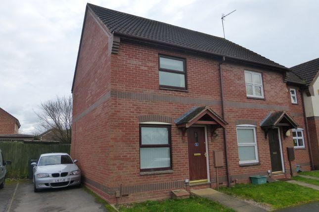 Thumbnail Semi-detached house for sale in Cornflower Road, Abbeymead, Gloucester