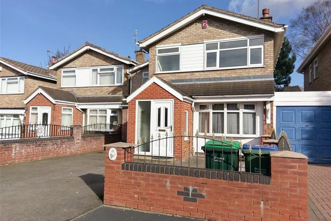 Thumbnail Detached house for sale in Gillingham Close, Wednesbury
