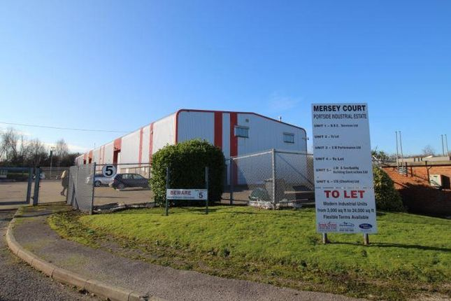 Thumbnail Light industrial to let in Unit G Portside Industrial Estate, Merseyton Road, Ellesmere Port, Cheshire