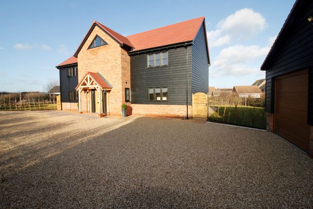 Thumbnail Detached house for sale in Winsor Crescent, Hampton Vale, Peterborough