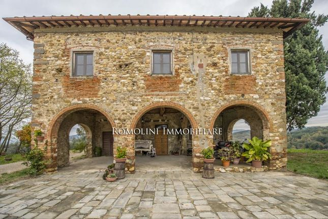 Thumbnail Farm for sale in San Casciano In Val di Pesa, Tuscany, Italy