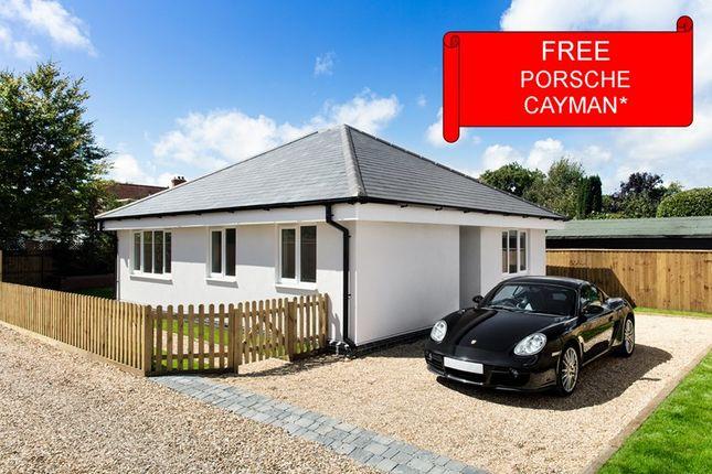 Thumbnail Detached bungalow for sale in South Street, Pennington, Lymington