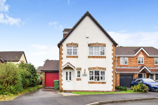 Thumbnail Detached house for sale in Newmill Gardens, Miskin, Pontyclun