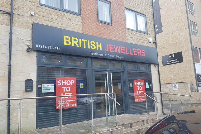 Retail premises to let in Great Horton Road, Bradford