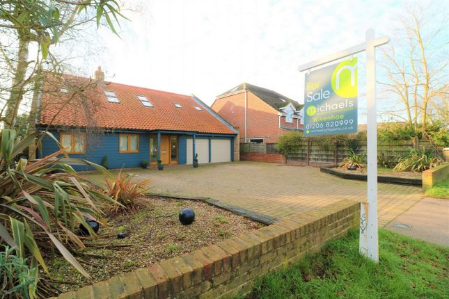 Thumbnail Detached house for sale in Wivenhoe Road, Alresford, Essex