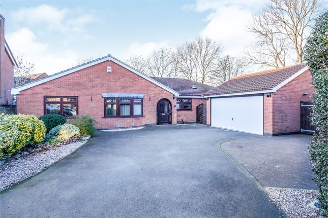 Thumbnail Detached bungalow for sale in Pennant Road, Burbage, Hinckley