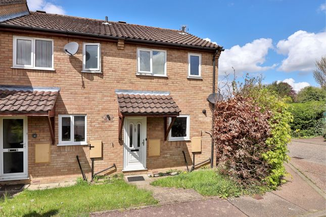 Thumbnail End terrace house to rent in Orchid Close, Halesworth