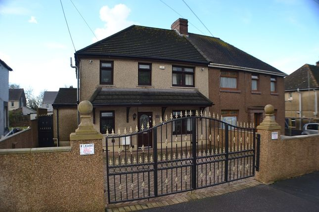 Thumbnail Semi-detached house for sale in Bertha Road, Port Talbot, Neath Port Talbot.