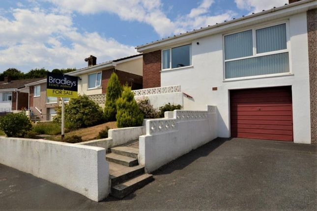 Thumbnail Semi-detached bungalow for sale in Longacre, Plymouth, Devon