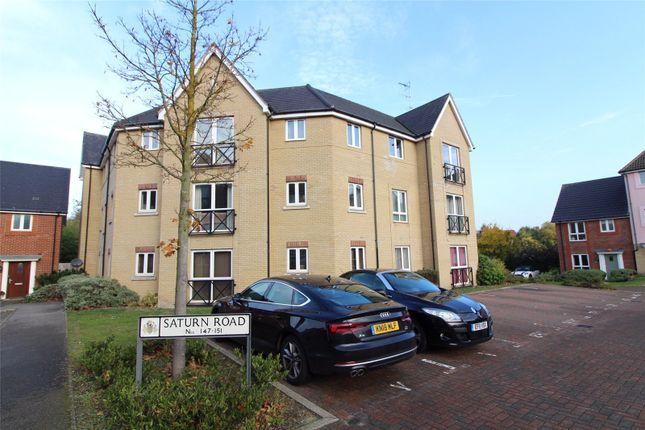 Thumbnail Flat to rent in Saturn Road, Ipswich, Suffolk
