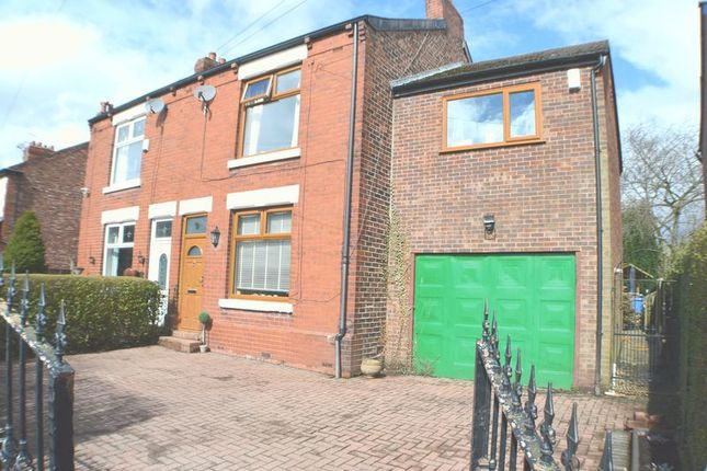 Thumbnail Semi-detached house for sale in Newtown Avenue, Denton, Manchester