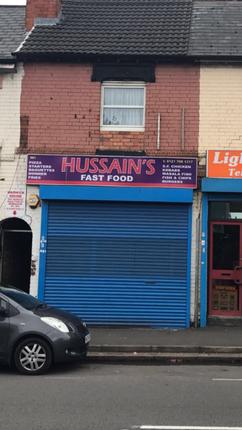 Thumbnail Retail premises for sale in Warwick Road, Birmingham