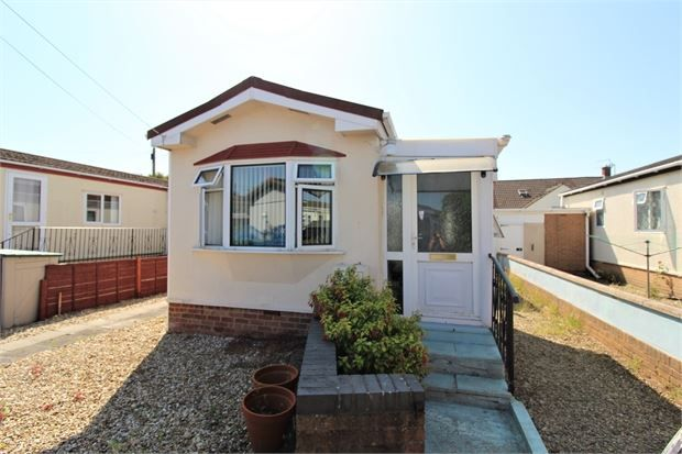 Thumbnail Mobile/park home for sale in Hill View Park, Locking Road, Weston-Super-Mare, North Somerset.