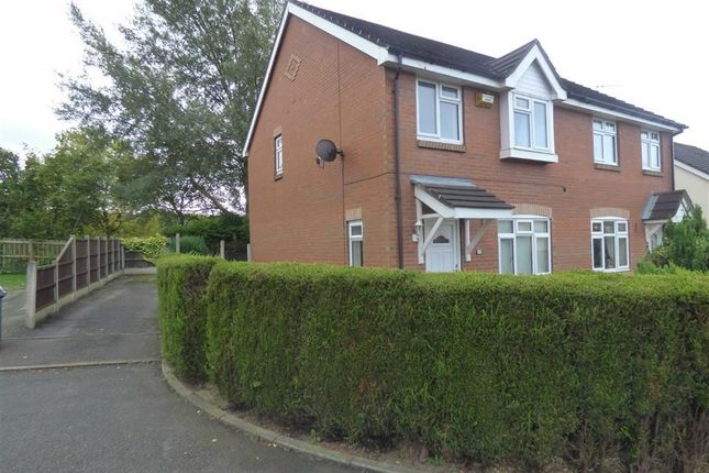 Thumbnail Semi-detached house to rent in Cloverdale Place, Longton, Stoke-On-Trent