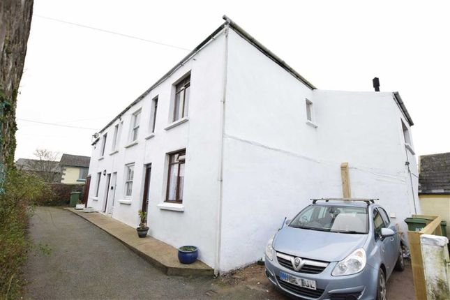 Thumbnail End terrace house for sale in Wesley Terrace, Hartland, Bideford