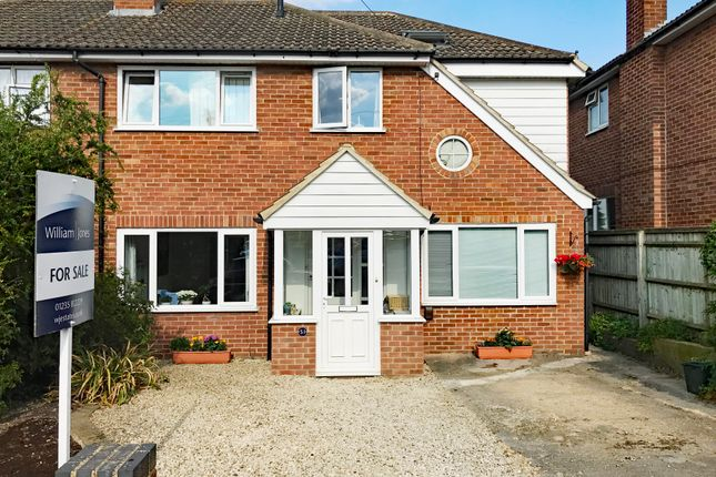 Thumbnail Semi-detached house for sale in Blenheim Close, Didcot, Oxon