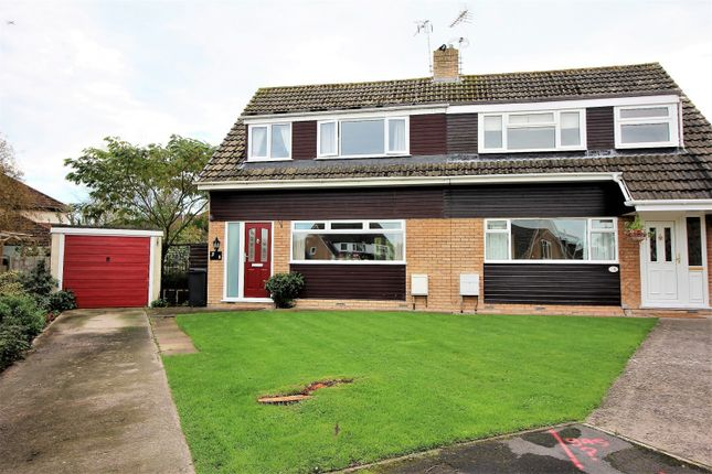 Thumbnail Semi-detached house for sale in Cherry Close, Yatton