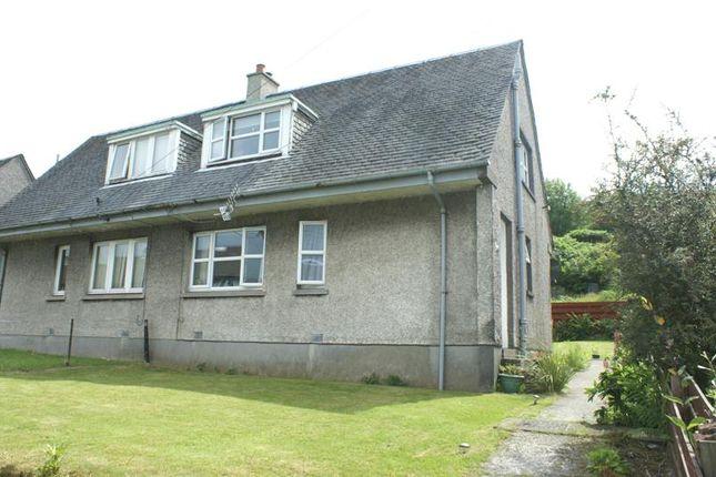 2 bedroom semi-detached house for sale in High Park, Tarbert, Argyll