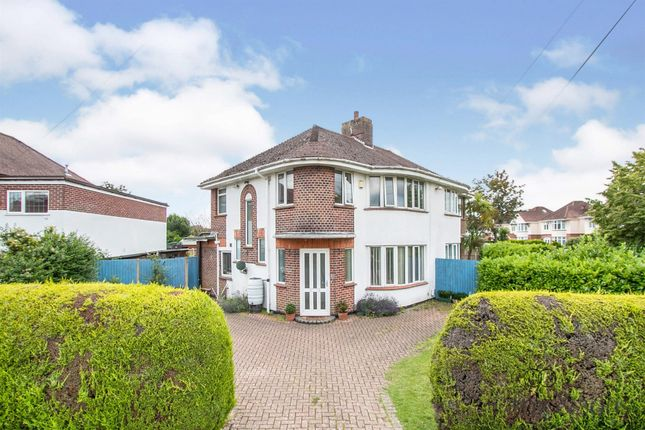 Thumbnail Semi-detached house for sale in Saxonhurst Road, Bournemouth