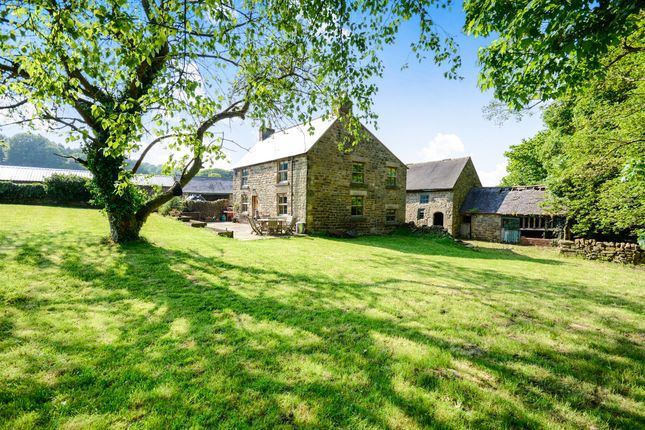 Thumbnail Farmhouse for sale in Harewood Road, Holymoorside, Chesterfield