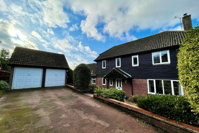 Thumbnail Detached house for sale in Westminster Close, Basingstoke