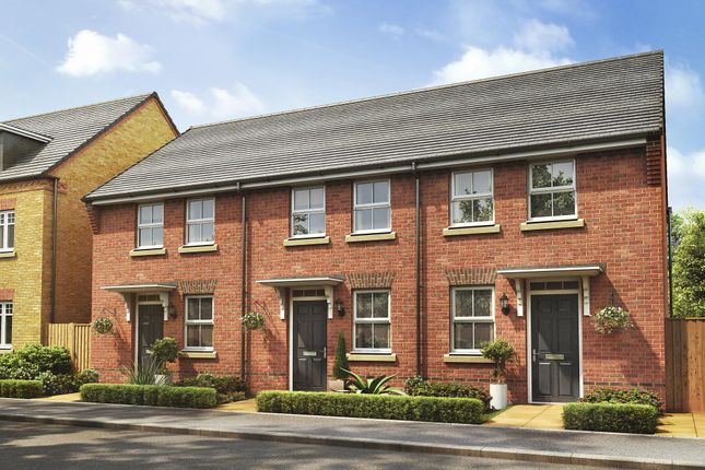 "Thumbnail Terraced house for sale in ""Wilford"" at Nine Days Lane, Redditch"