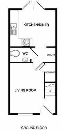 Floor Plan of Swinderby Road, Collingham, Newark NG23