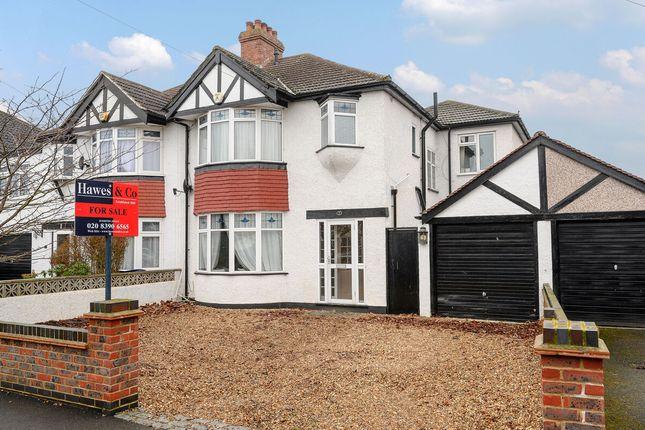 Thumbnail Semi-detached house for sale in Lyndhurst Avenue, Surbiton