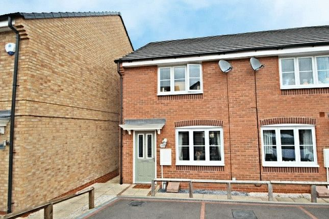 Thumbnail Town house to rent in Lamphouse Way, Wolstanton, Newcastle