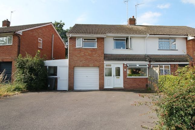 Thumbnail Semi-detached house for sale in Millbridge Road, Hucclecote, Gloucester