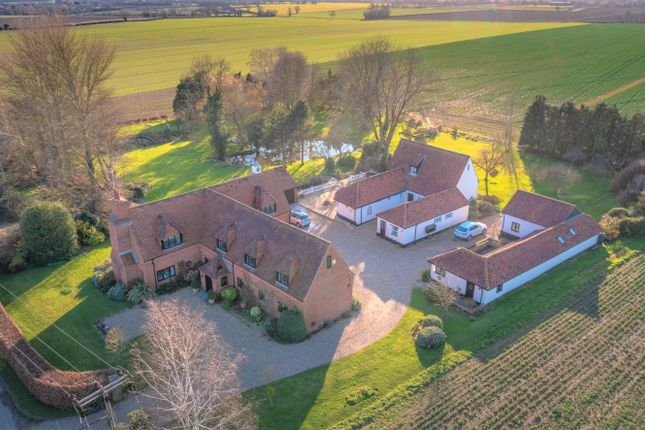 Thumbnail Detached house for sale in Flaxlands Road, Carleton Rode, Norwich