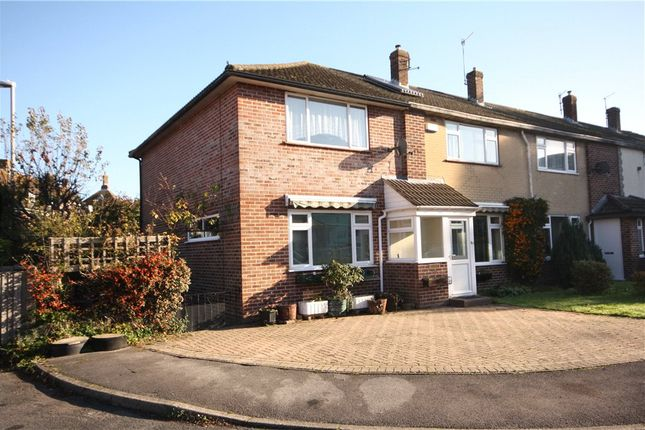 Thumbnail End terrace house for sale in Fishers Close, Blandford Forum