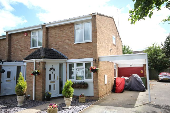 Thumbnail End terrace house for sale in Kingswood Close, Bishops Cleeve, Cheltenham, Gloucestershire