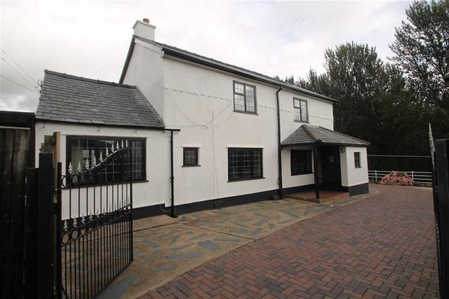 Thumbnail Detached house to rent in Rhyn Lane, St. Martins, Oswestry