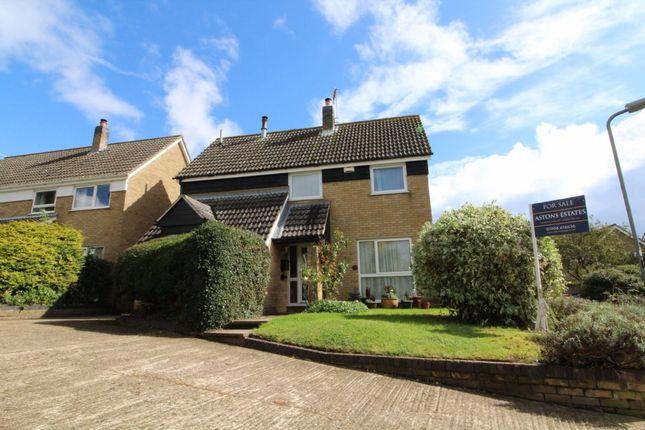 Thumbnail Detached house for sale in Malting Close, Stoke Goldington, Buckinghamshire