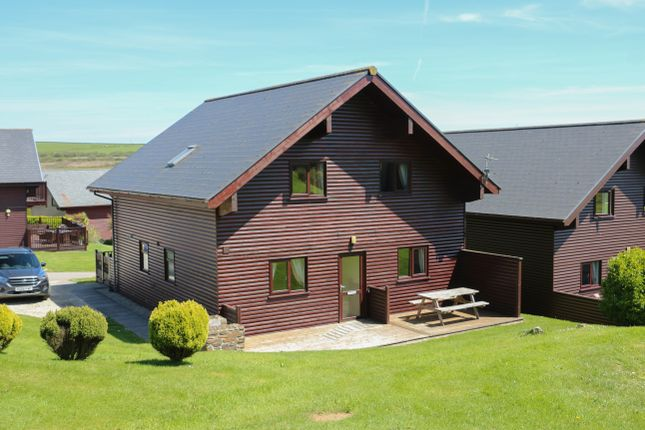 Thumbnail Lodge for sale in Retallack Resort, St Columb