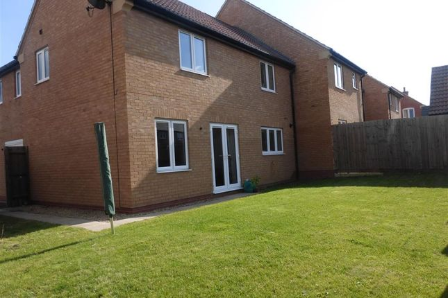 Thumbnail Town house for sale in Leslie Yoxall Drive, Loughborough
