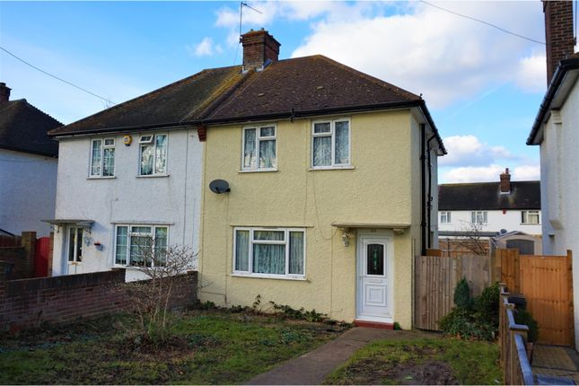 3 bed semi-detached house for sale in Waddon Way, Croydon
