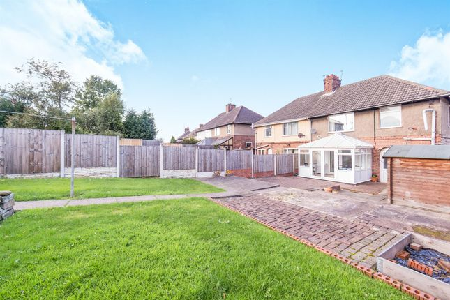3 bed semi-detached house for sale in Hollingwood Crescent, Hollingwood, Chesterfield