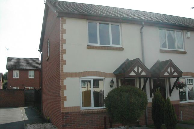 Thumbnail End terrace house to rent in Austin Close, Atherstone