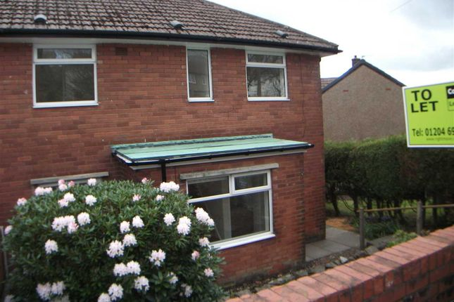 Thumbnail Semi-detached house to rent in Douglas Avenue, Horwich, Bolton