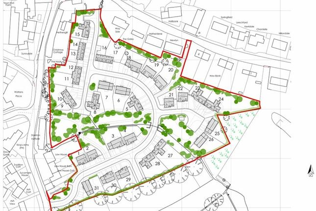 Thumbnail Land for sale in Attractive Residential Development, Stainton, Penrith, Cumbria