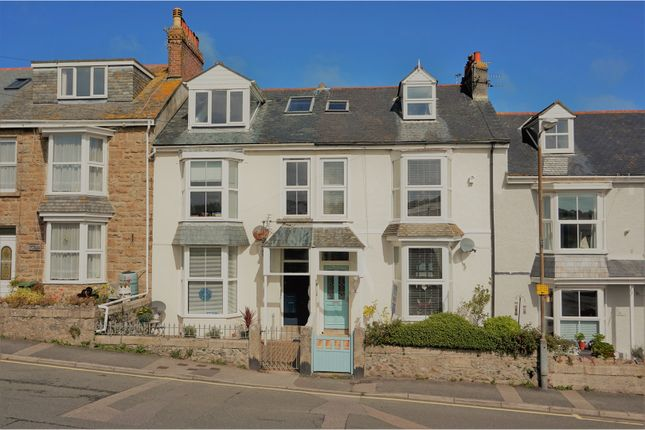 Thumbnail Terraced house for sale in Belmont Terrace, St. Ives