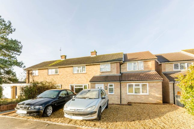Thumbnail Semi-detached house to rent in Applegarth Avenue, Park Barn, Guildford