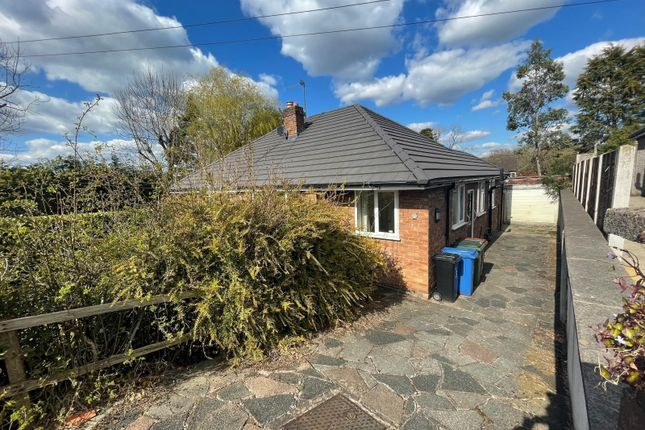 2 bed semi-detached bungalow to rent in Fernhill, Mellor, Stockport SK6