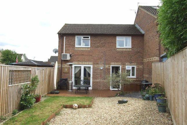 Thumbnail End terrace house for sale in Magister Road, Bowerhill, Melksham