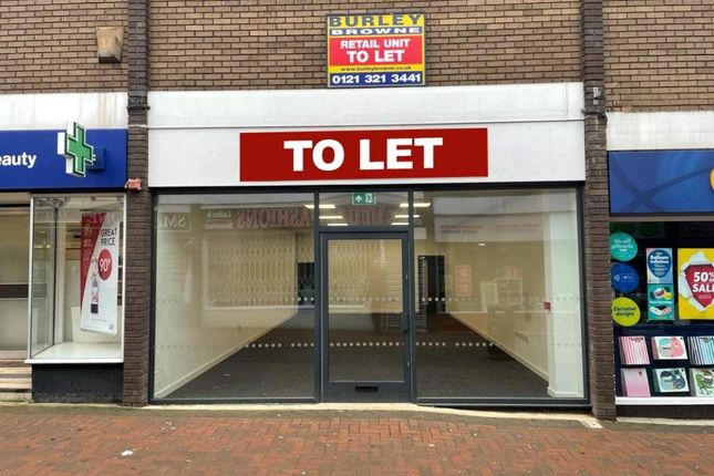 Thumbnail Retail premises to let in Unit 13, Aldridge Shopping Centre, Aldridge